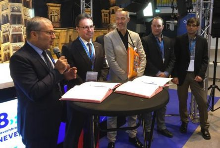 Entente de collaboration entre Shawinigan et Nevers en France