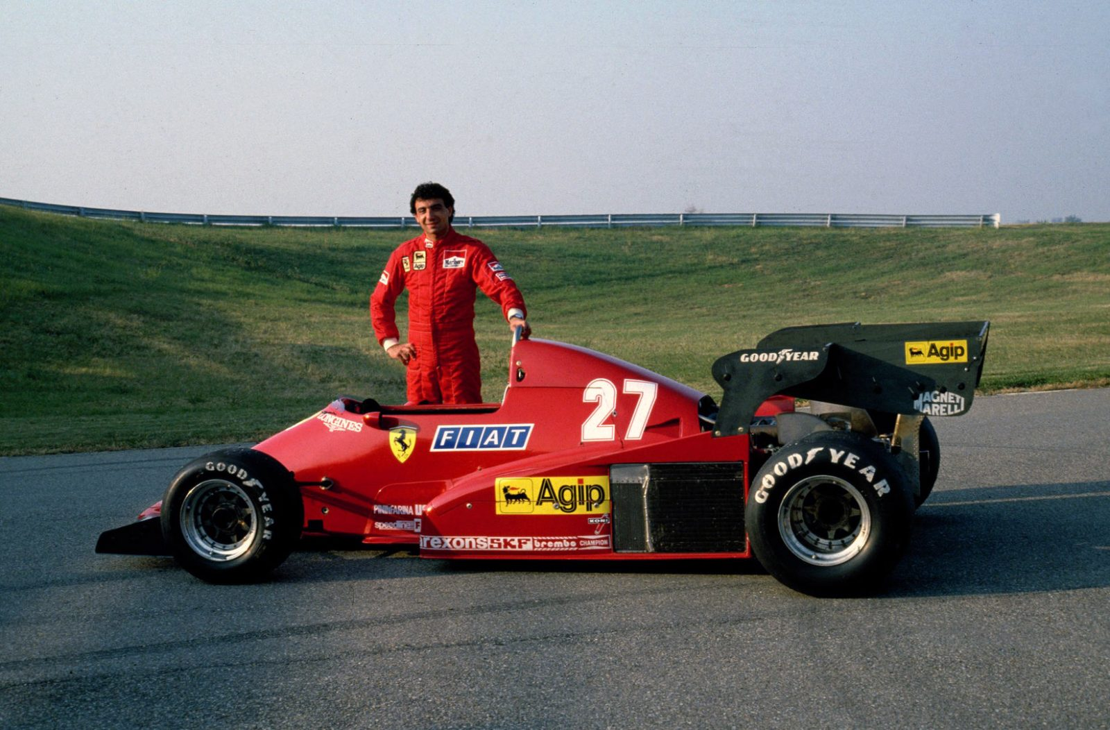 25 avril 2001- Michele Alboreto victime d'un accident fatal