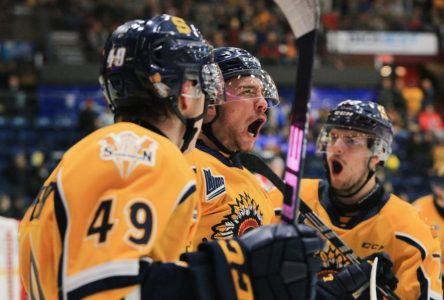 Shawinigan à 3 points du 4e rang