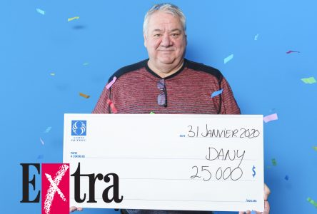 Extra: 25 000$ pour Dany Boudreault